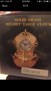 Dive Helmet Desk or table clock /horloge