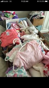 Tons of mint condition brand name baby girl clothes!