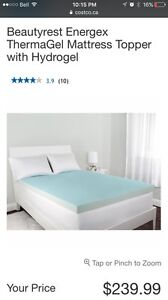 Beautyrest mattress topper, Size: Double