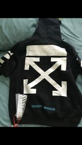 "Off white "" Seeing things"" hoodie"