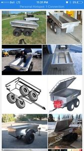Looking for walking beam tub trailer for quad