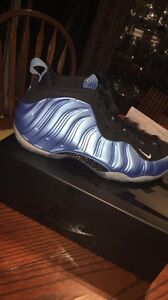 University blue foamposites size 11