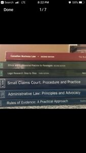 Paralegal book for sale - Canadian Business Law 2nd Ed