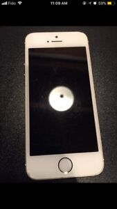 iPhone 5s 32gb Fido w/ Otter Box Case