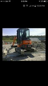 Excavator wanted
