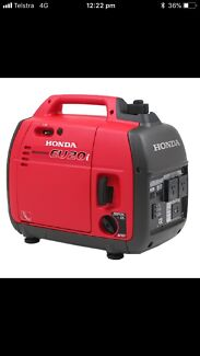 Honda eu20i generator near new with cover and mat