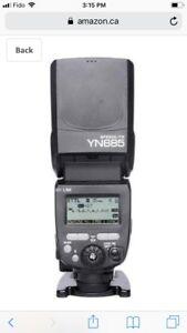 Yongnuo YN 685 flash for nikon