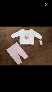 Adorable newborn girl outfit New with tags