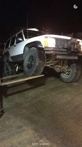 96  Cherokee lifted on 35s