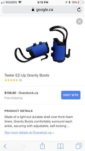 Teether EZ-UP gravity boots