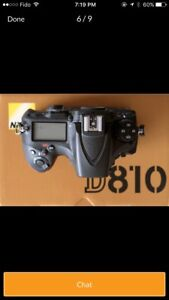 Nikon D810 body with low shutter count