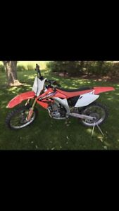 Selling my crf450. Lots of upgrades