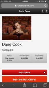 Dane Cook Tickets For Sale