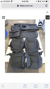 2014-18 GMC Sierra factory cloth seat covers