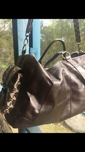 Leather and python travel bags Bonogin Gold Coast South Preview