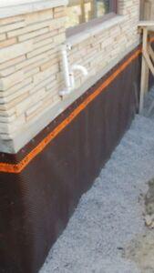 Waterproofing Hamilton / Basement Leaks Fixed