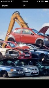 Scrap Cars Pick Up