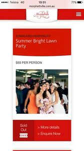 WANTED: 5X Summer Bright Lawn Party Adelaide cup Adelaide CBD Adelaide City Preview