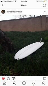 6'0 edge bottom surfboard