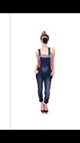 Celebrity Pink Women Blue Jeans Overalls With Adjustable Str