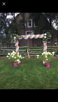 Wedding Arbour and accessories