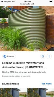 Wanted: WANTED!!! Slimline water tank
