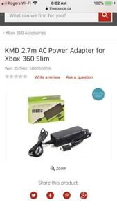 Looking for power cord for Xbox 360s