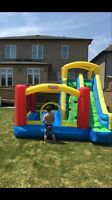 GIANT SLIDE BOUNCER RENTAL