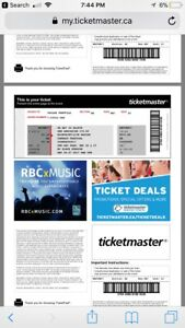 Contact music festival tickets