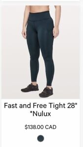 bf45b32dfe7fe4 Lululemon Fast Free | Kijiji in Ontario. - Buy, Sell & Save with ...