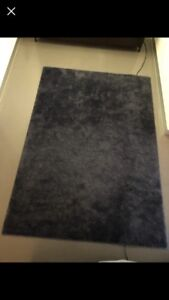 *** Ikea floor rug - Navy - used 5 months - excellent condition ***