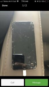 Wanted: Wanted: cracked screen iPhone 6s