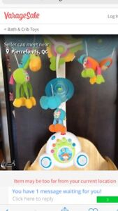 Mobile musical jungle fisher price