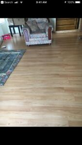 Oakwood Laminating floor (flooring), 8mm. In mint condition