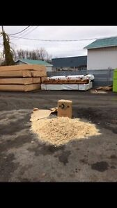 Ripe de bois en sac litières pour animaux