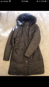 Warm winter coat size small ladies excellent condition