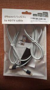 Cable adapteur iphone/tv