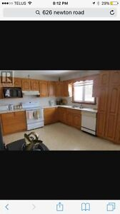 Kitchen oak cupboards and drawer fronts for sale