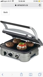 Cuisinart CGR-4NC 5-in-1 Griddler.       (mike03)