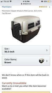Clipper Ithaka pet carrier - size 6