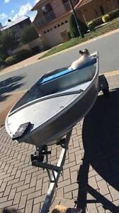 Stacer 310 Seasprite Aluminium Dingy plus trailer and motors - Gungahlin Gungahlin Area Preview
