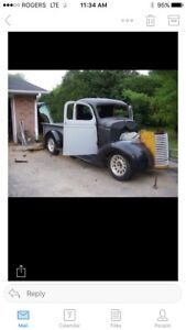 1940 Chevy pickup half ton project.