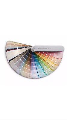 New  Sherwin Williams Color Fan Deck