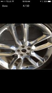 "Ford Edge Sport 22"" Chrome Rims Only (2 x $175 = $350)"