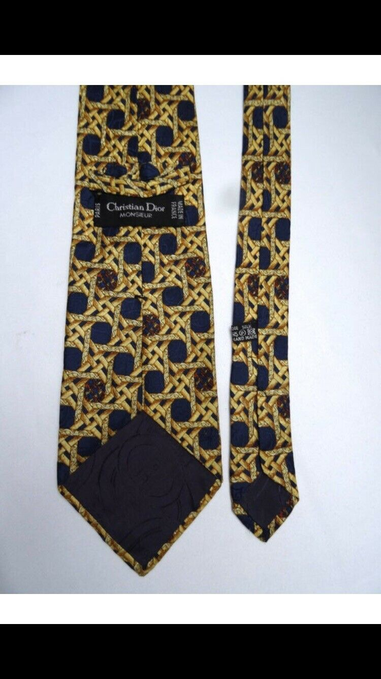 Cravate dior en soie