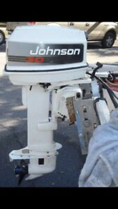 Wanted 25-30 hp outboard.  Long shank