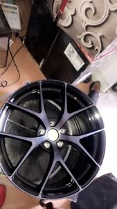 Ruffino HRONOS  Gloss Black - Machined Face  Smoked Clear 20x9.0