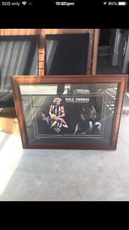 Dale Thomas framed picture collingwood $50