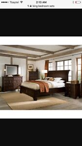 Wanted king size bedroom set