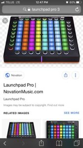 Selling Launchpad pro 3 with abelton for cheap!